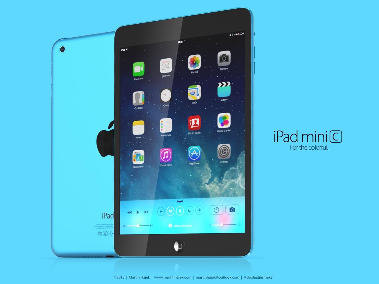 mini 2 blue