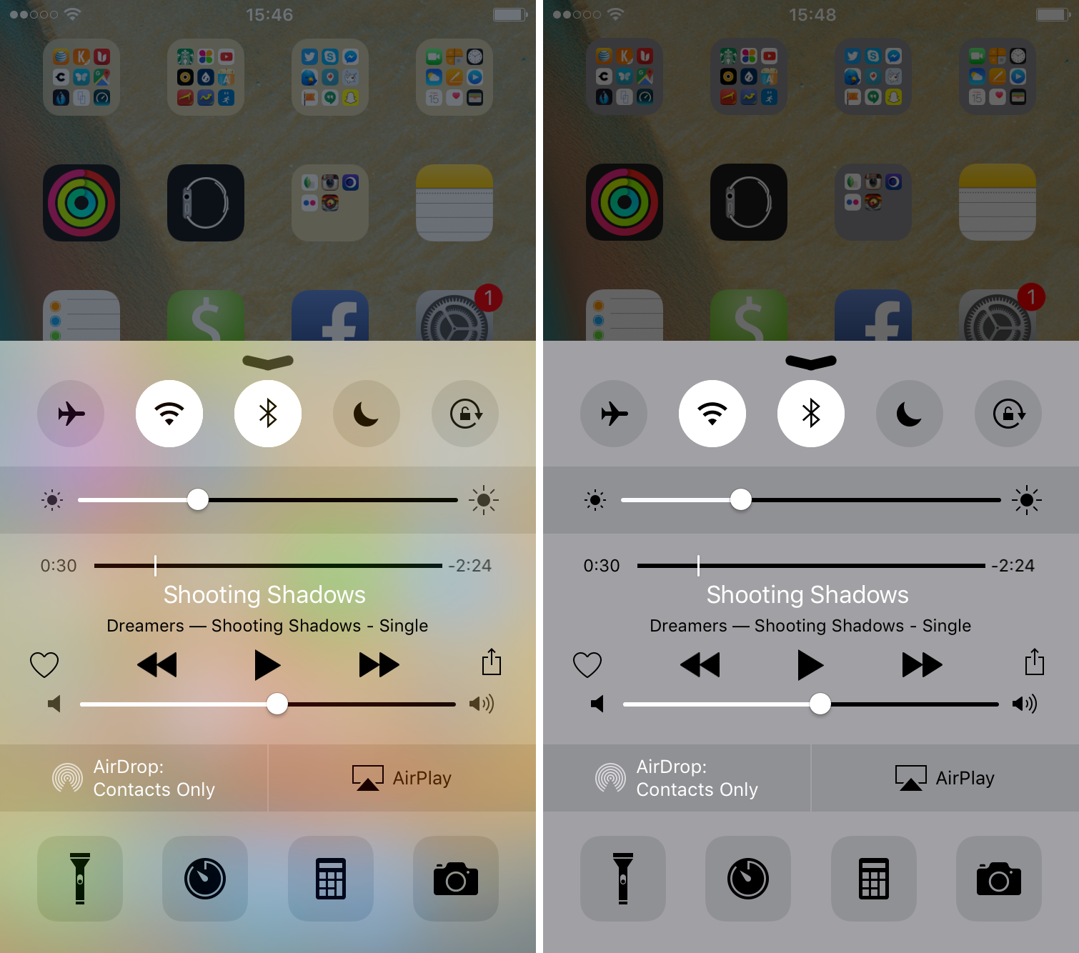 How to get rid of the blur effects in iOS
