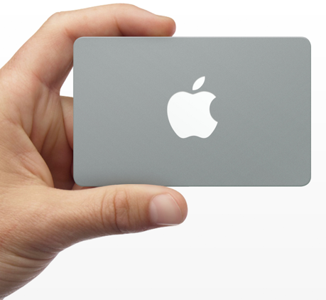 Apple Store gift card (image 001)