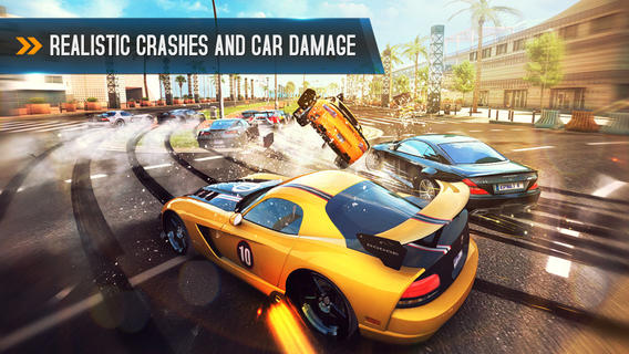 Asphalt 8 1.1 for iOS (iPhone screenshot 001)