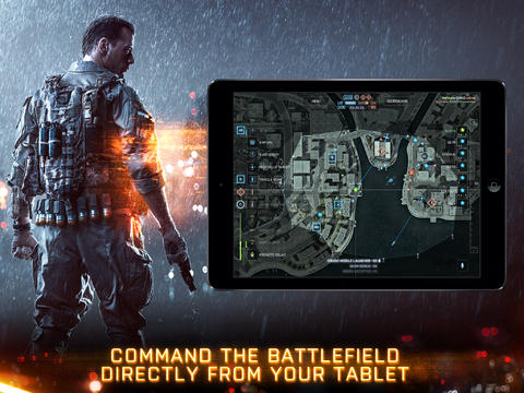 Battlefield 4 Tablet Commander 1.0 for iOS (iPad screenshot 001)
