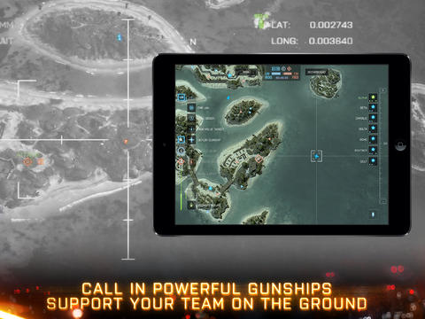 Battlefield 4 Tablet Commander 1.0 for iOS (iPad screenshot 004)