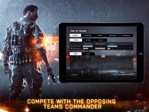 Battlefield 4 Tablet Commander 1.0 for iOS (iPad screenshot 005)
