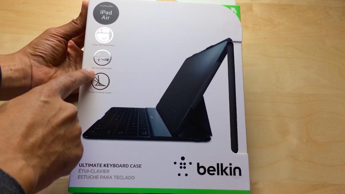 Belkin Ultimate Keyboard Case iPad Air