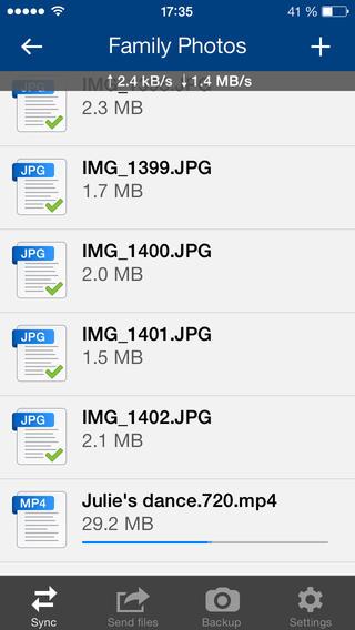 BitTorrent 1.2.29 for iOS (iPhone screenshot 003)