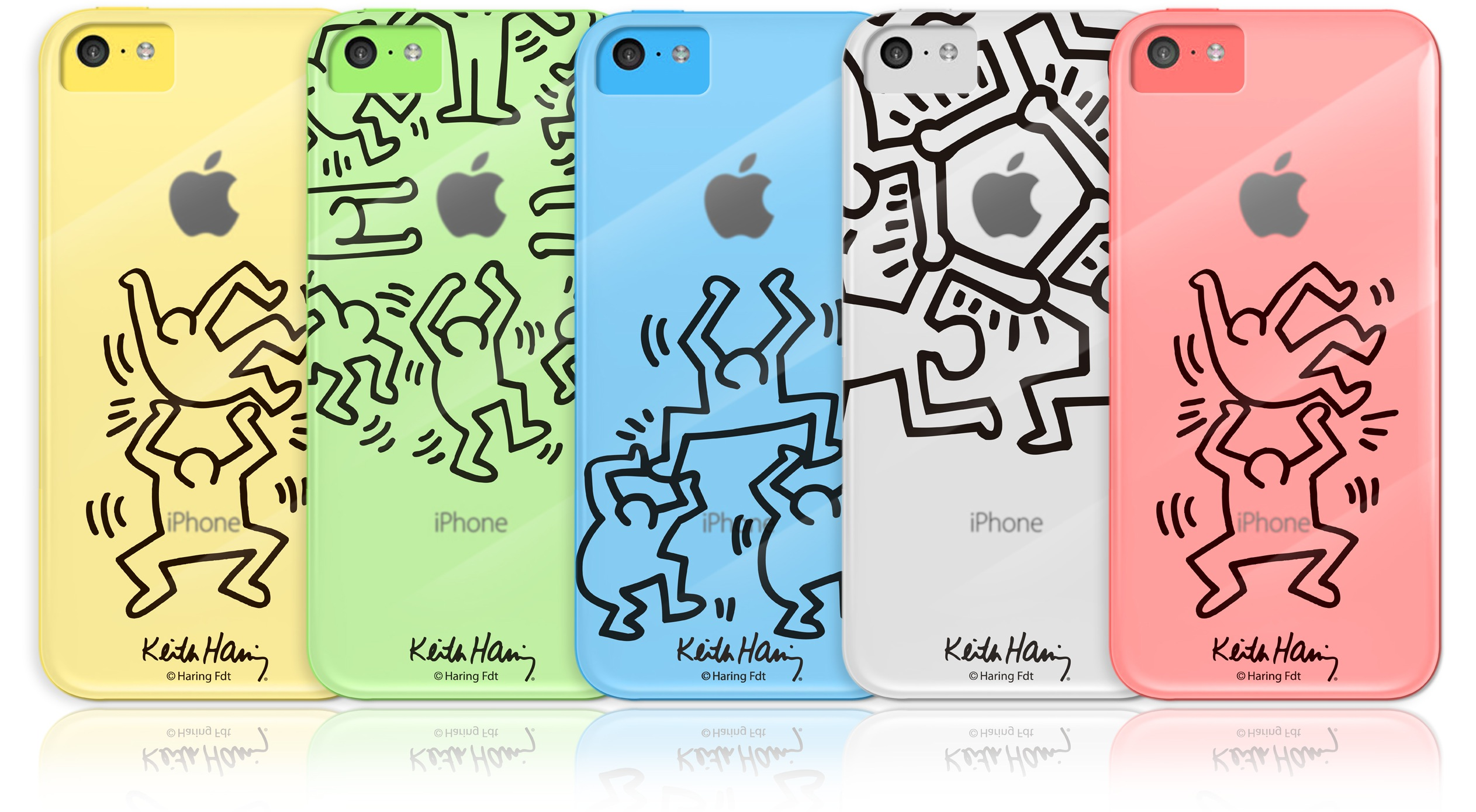 Case Scenario Keith Haring Crystal Case