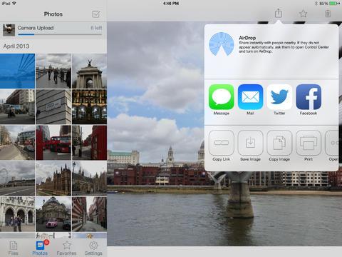 Dropbox 3.0 for iOS (iPad screenshot 001)