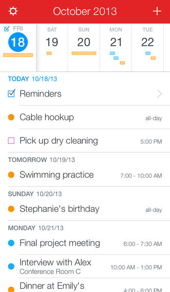 Fantastical 2.0.2 for iOS (iPhone screenshot 003)