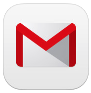Gmail 2.7182 for iOS (app icon, small)