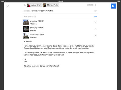 Gmail 2.7182 for iOS (iPad screenshot 002)