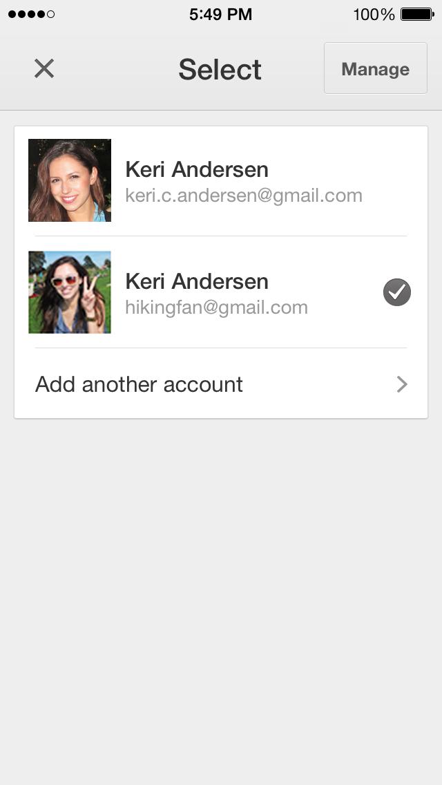 Google Drive 2.0.1 for iOS (iPhone screenshot 003)
