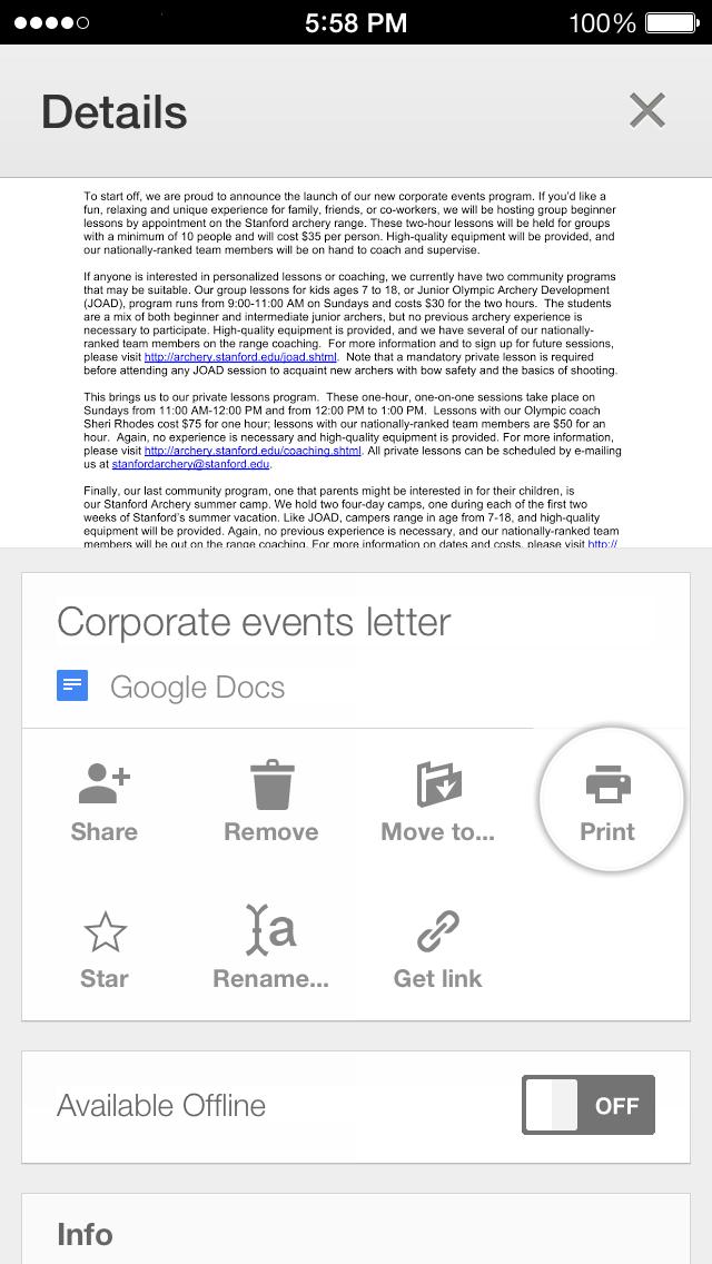 Google Drive 2.0.1 for iOS (iPhone screenshot 004)