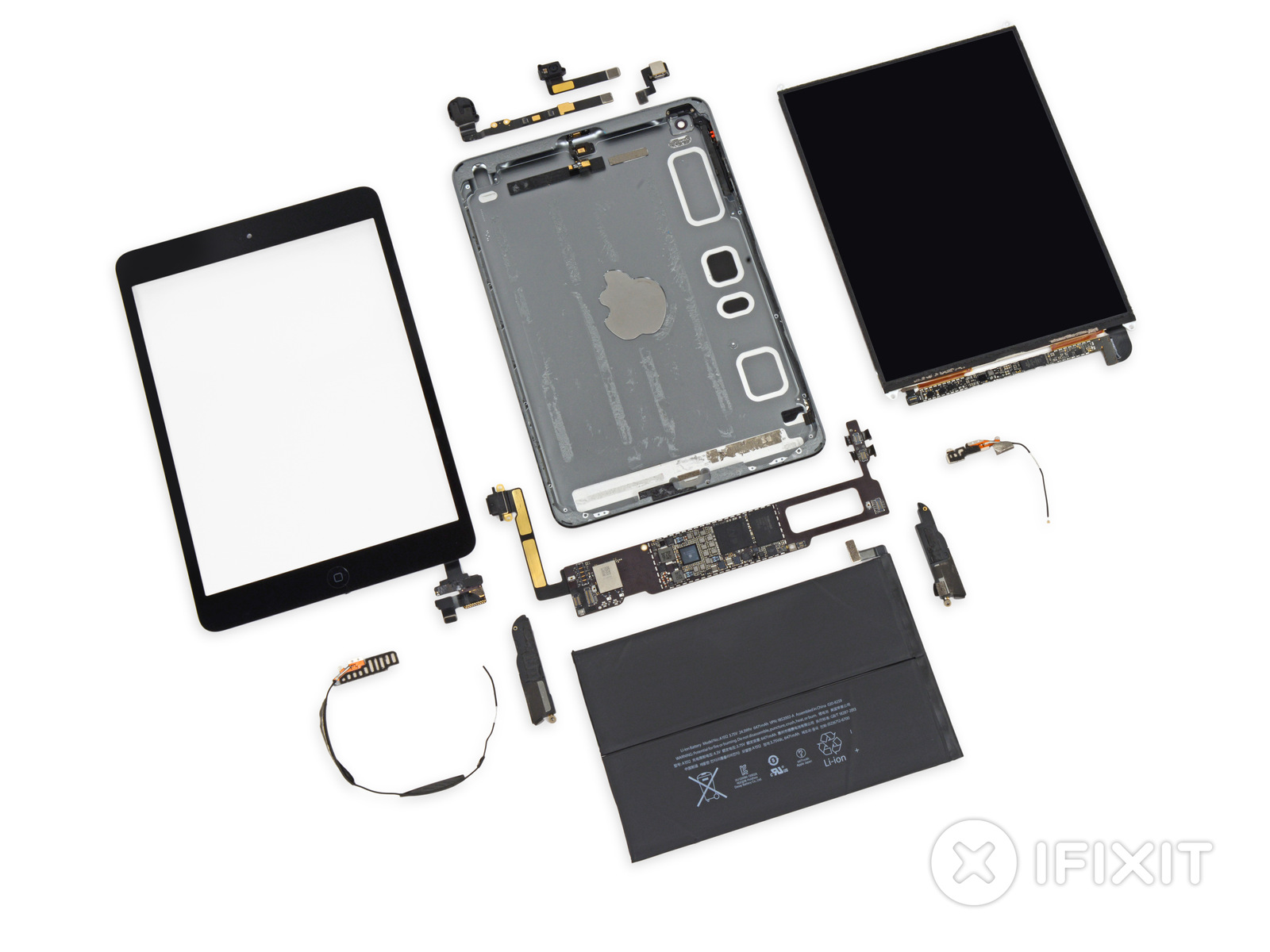 IPad mini 2 (Retina, iFixit teardown 001)