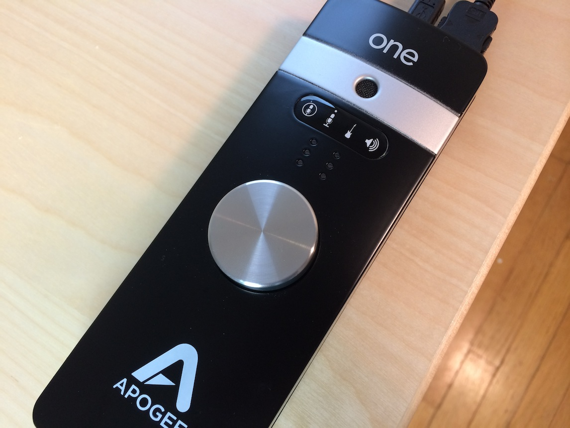 Jeff's Apogee ONE