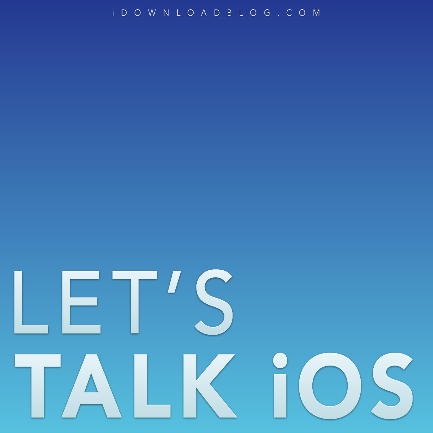 Let's Talk iOS podcast cover (no matrix effect)
