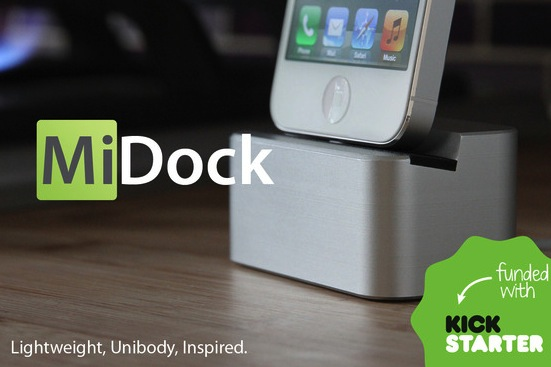 MiDock Kickstarter Splash