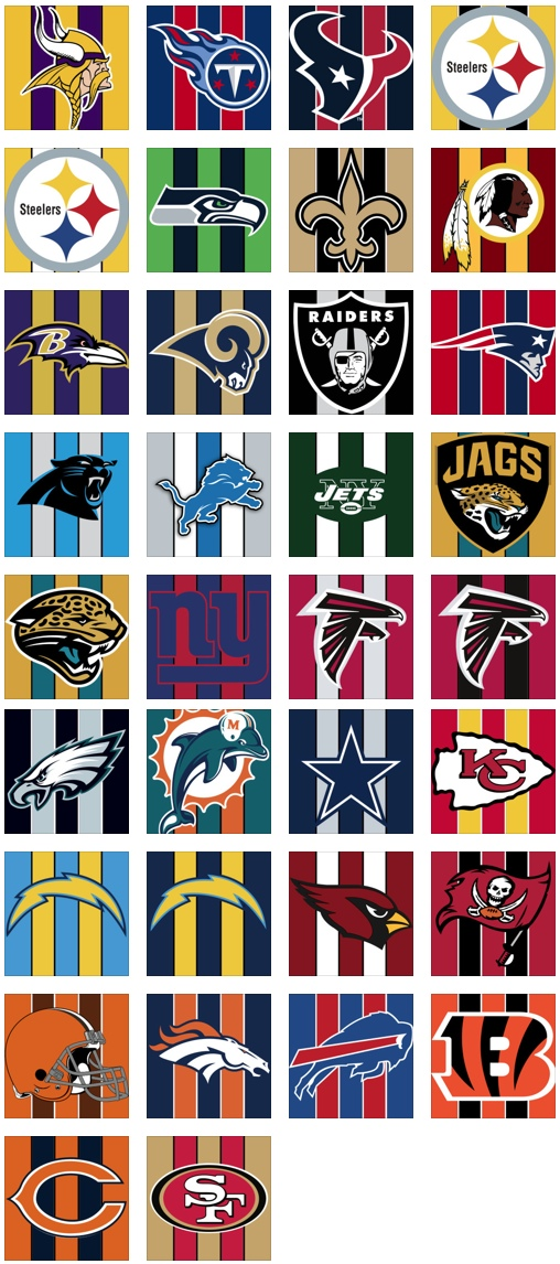 NFL Teams Thumbnails