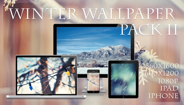 Solfield Winter Wallpaper II Pack splash