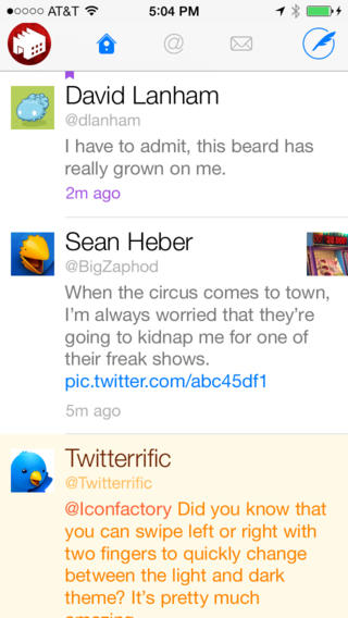 Twitterrific 5.5.3 for iOS (iPhone screenshot 001)