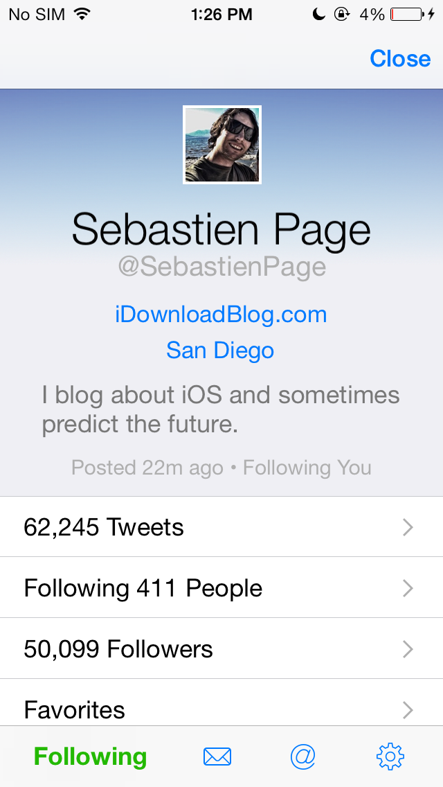 Twitterrific 5.5.3 for iOS (iPhone screenshot 003)