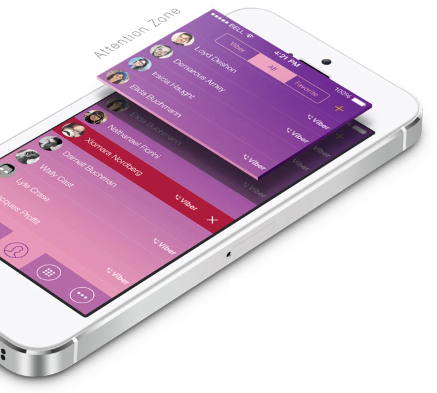 Viber iOS 7 concept (image 003)