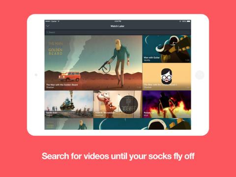 Vimeo 4.0.5 for iOS (iPad screenshot 001)