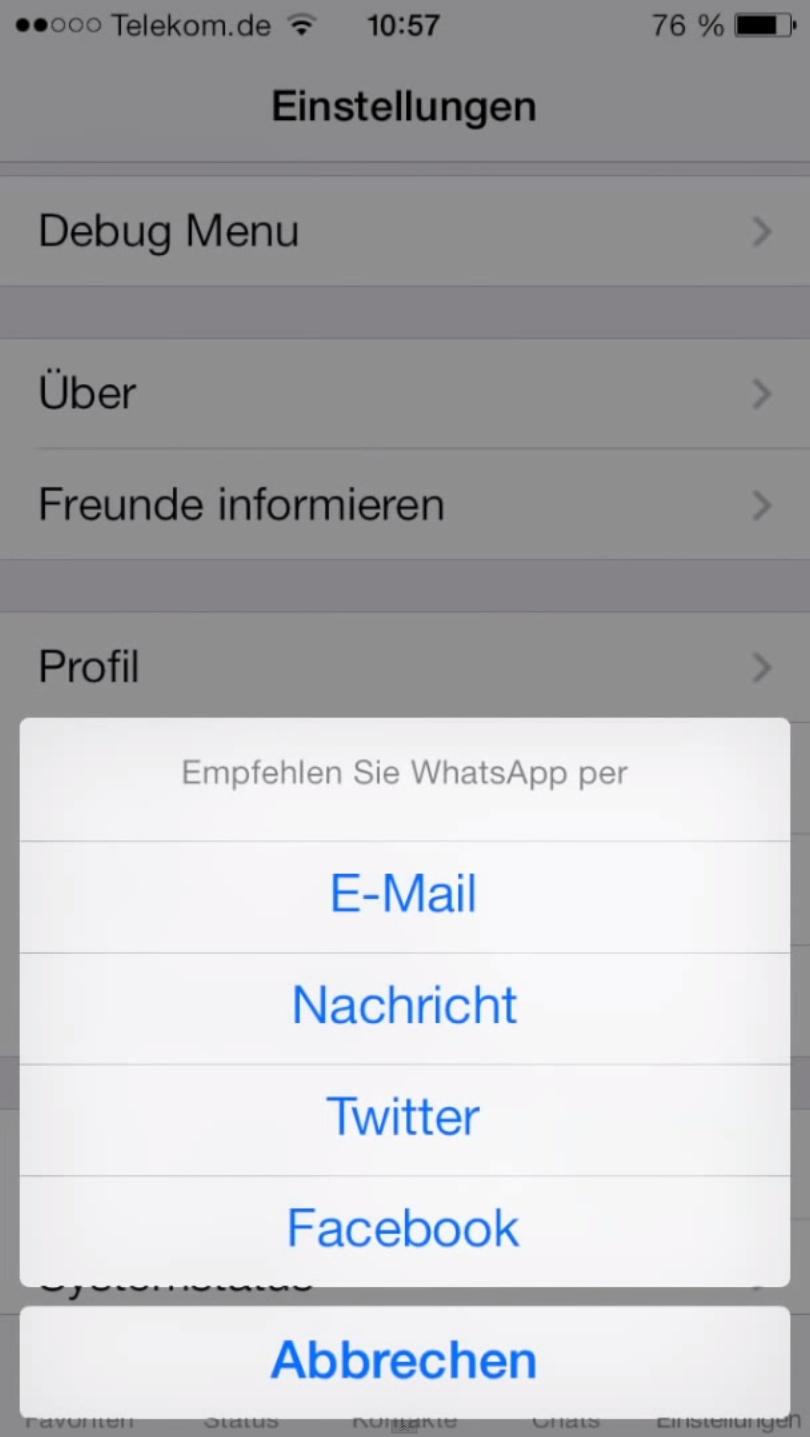 WhatsApp iOS 7 uodate (image 002)