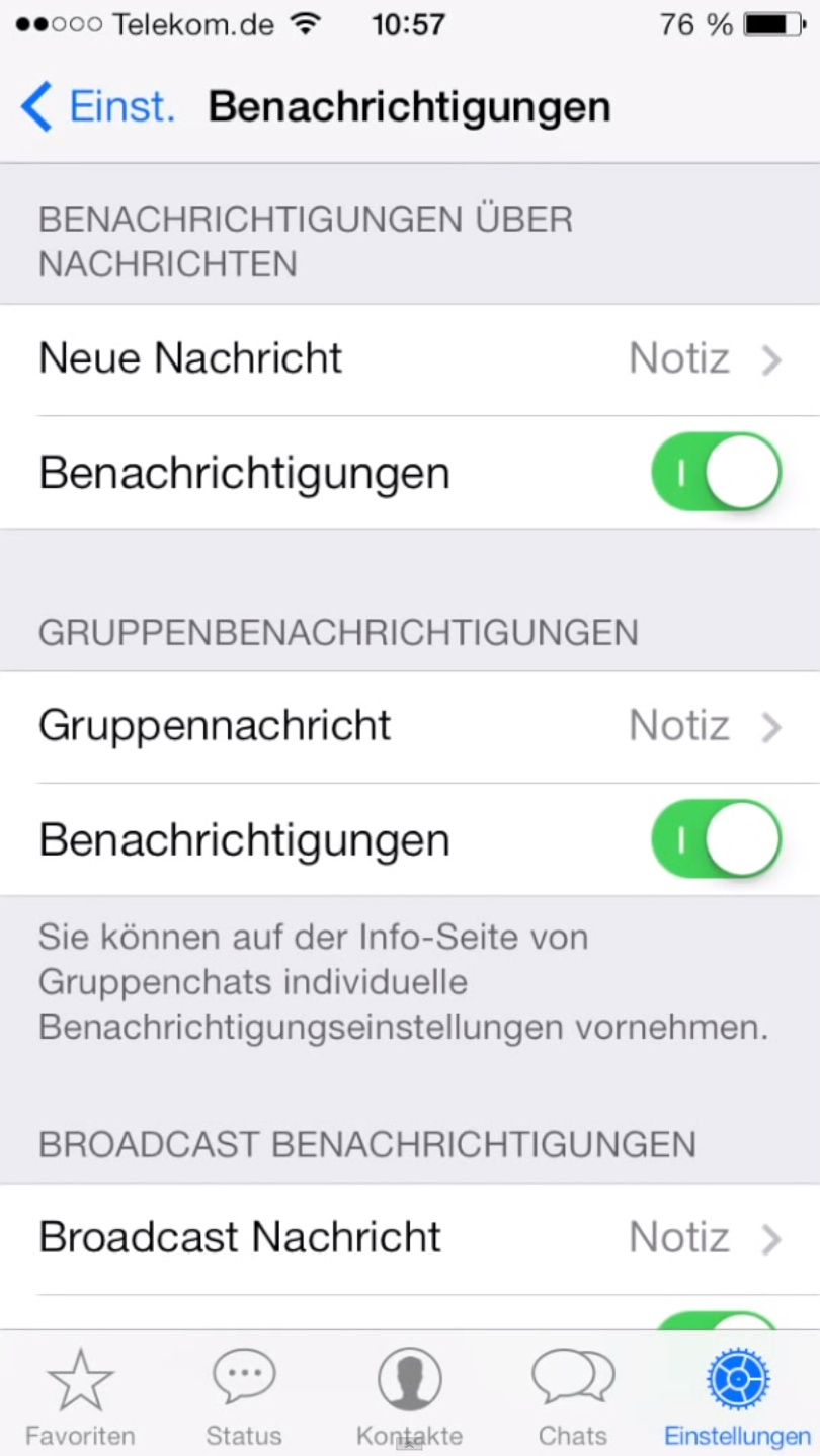 WhatsApp iOS 7 uodate (image 004)