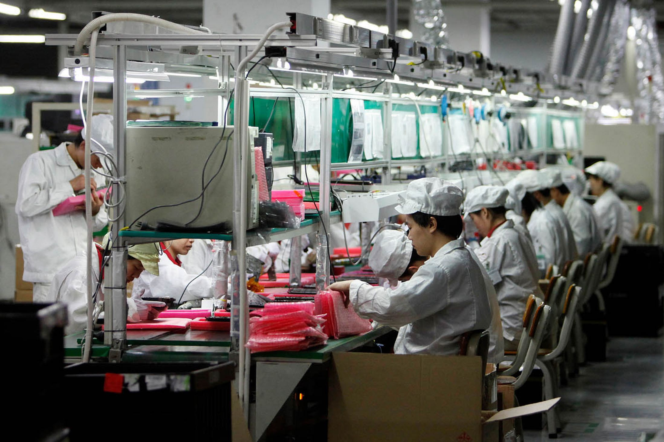 foxconn production