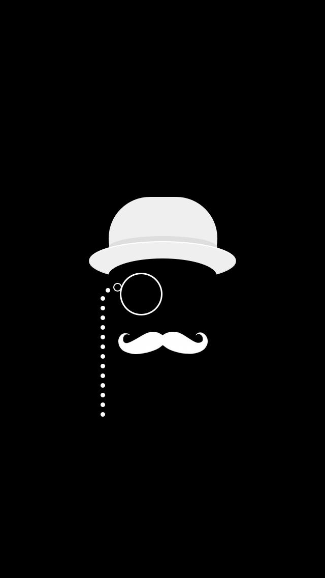 mustache iphone wallpaper hd - photo #34