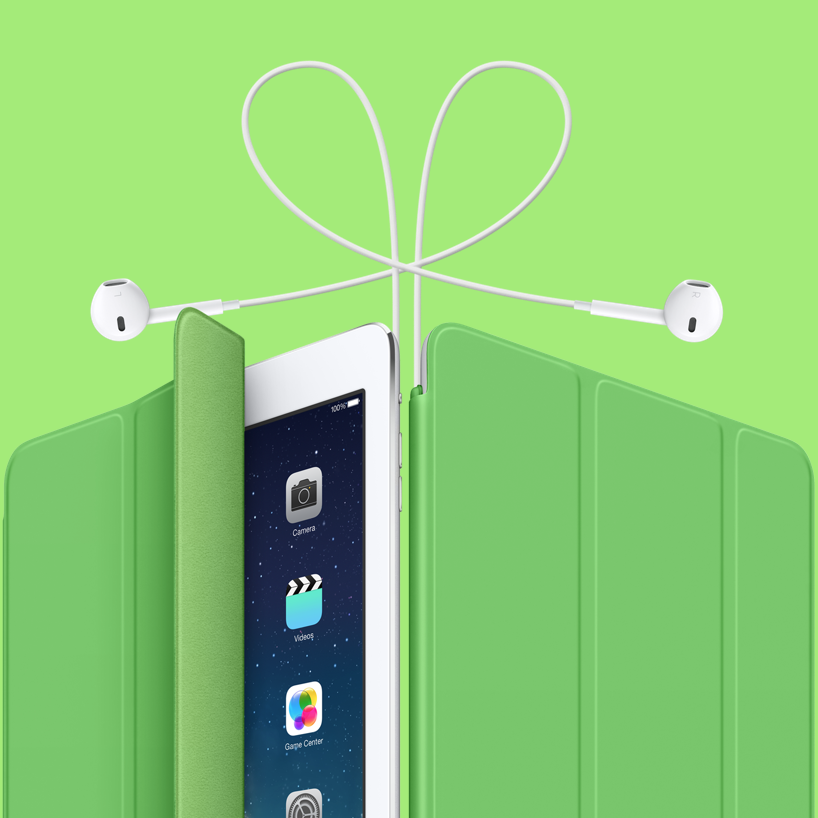 iPad green cover