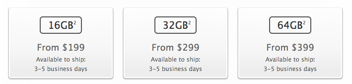 iPhone 5s shipping times 3-5 days