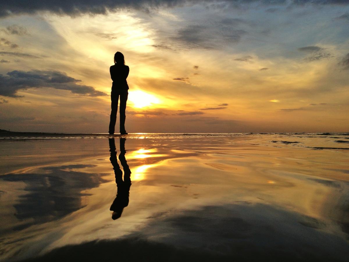 iPhone sunset photo