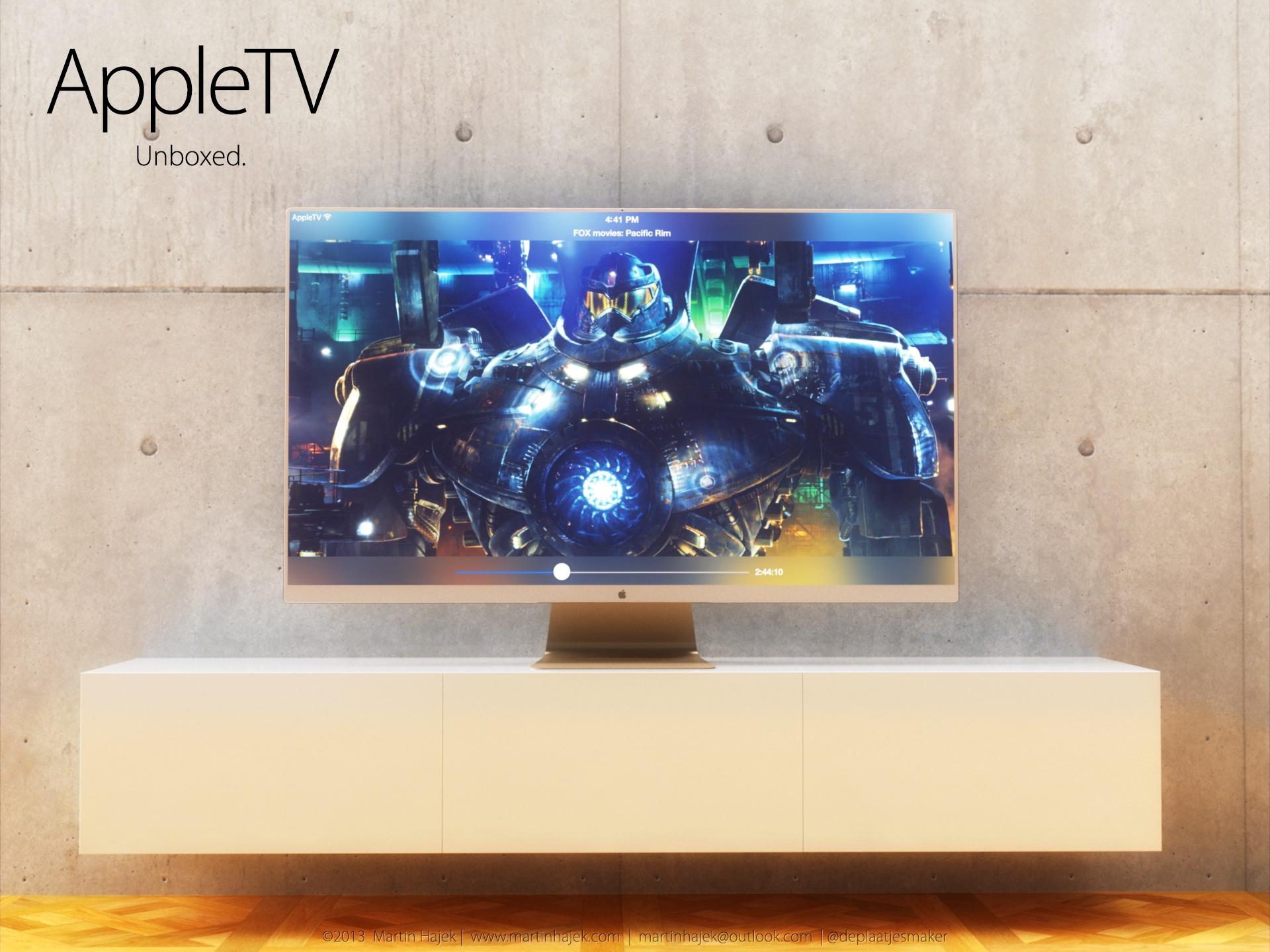 iTV concept (flat, gold, Martin Hajek 002)