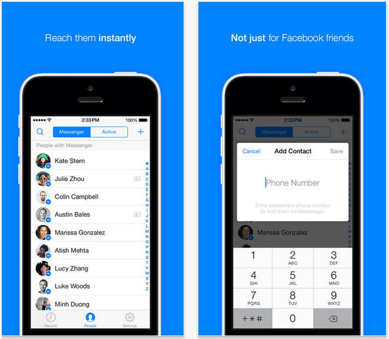 ios facebook messenger how to change alert sound