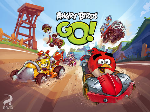 Angry Birds Go for iOS (iPad screenshot 001)