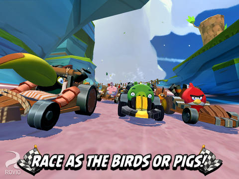 Angry Birds Go for iOS (iPad screenshot 002)