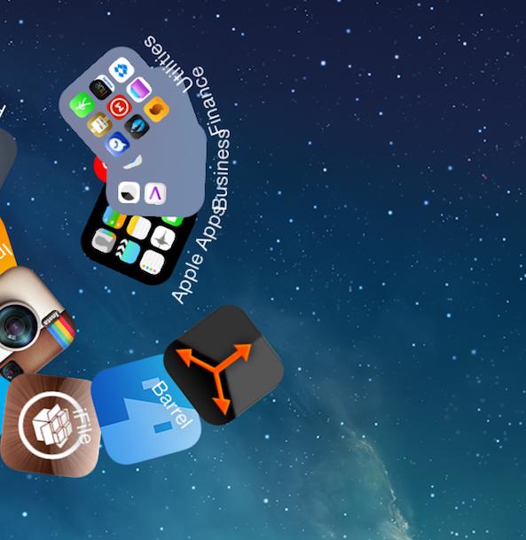 Barrel iOS 7