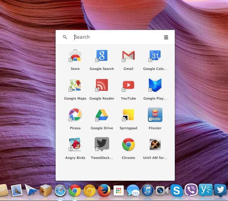 Chrome App Launcher (screenshot 002)