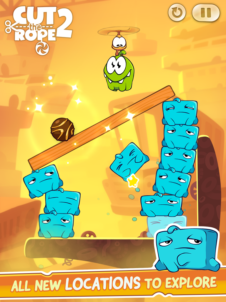 Cut the Rope 2 (iPad screenshot 002)