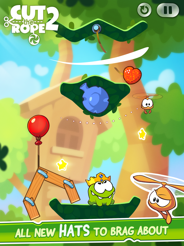 Cut the Rope 2 (iPad screenshot 003)
