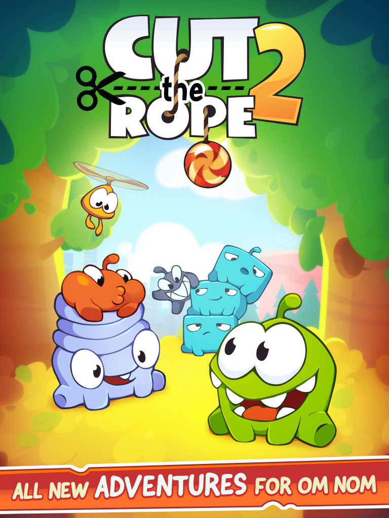 Cut the Rope 2 (iPad screenshot 004)