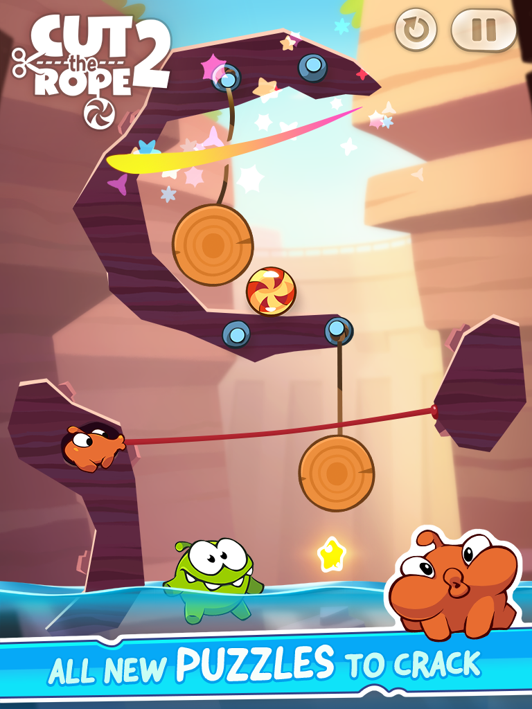 Cut the Rope 2 (iPad screenshot 005)