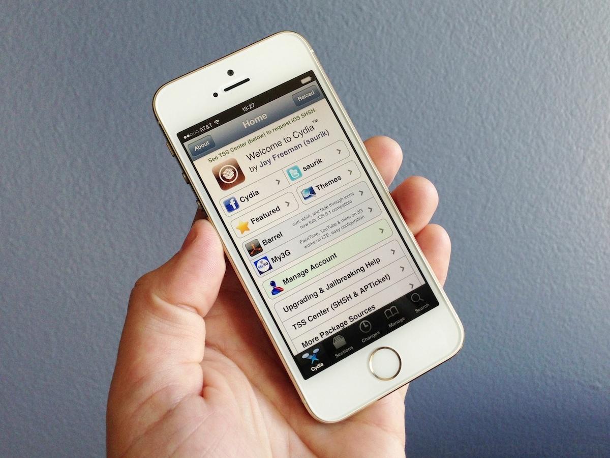 Cydia running iPhone 5s