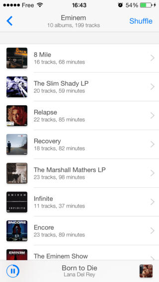 Ecoute 2.0 for iOS (iPhone screenshot 004)