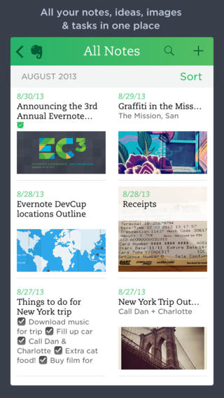 Evernote 7 2 For Ios Iphone Screenshot 001