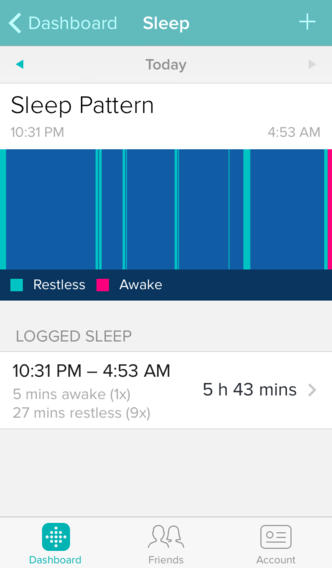 Fitbit 2.1 for iOS (iPhone screenshot 004)