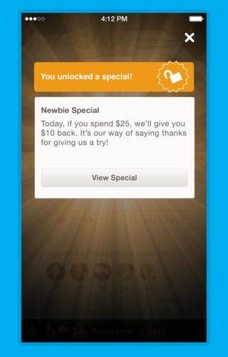 Foursquare 7 for iOS (iPhone screenshot 004)