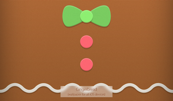 Gingerbread_Wallpaper Surenix