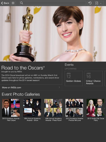 IMDB 4.0 for iOS (iPad screenshot 001)